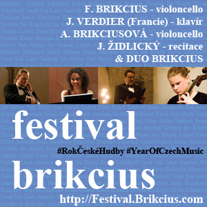 http://Festival.Brikcius.com - FESTIVAL BRIKCIUS - the 3rd chamber music concert series at the Stone Bell House & Year of Czech Music 2014 #YearOfCzechMusic