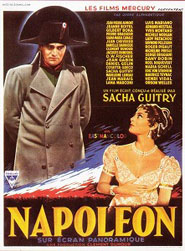 Sacha Guitry: Film Napoléon (1955) - poster