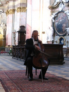 "http://www.Brikcius.com - František Brikcius: Czech Cellist - Project ""Tartini's L'Arte dell'Arco in the Interpretation of František Brikcius"" (Giuseppe Tartini, Paul Bazelaire and František Brikcius) - Benedictine Abbey Rajhrad"