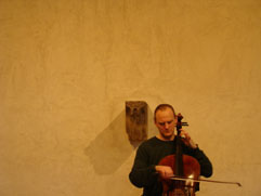 http://www.Brikcius.com - Festival Brikcius - the chamber music concert series at the Stone Bell House (Cellist František Brikcius)