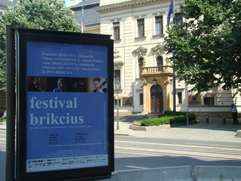 "http://Festival.Brikcius.com - Festival Brikcius - the 2nd chamber music concert series at the Stone Bell House in Prague, spring & autumn 2013 (media campaign ""Festival Brikcius"" on commercial City lights JCDecaux)."