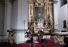 Duo Brikcius 2 Czech Cellists - 2 Siblings); Cello Concert DUO BRIKCIUS & OffenBACH; Festival Brikcius - the 6th Chamber Music Concert Series in Prague 2017. Photo: Alina Bogdana Mihai, http://Festival.Brikcius.com